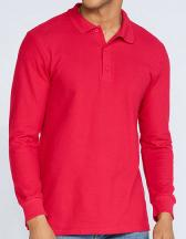 Premium Cotton® Long Sleeve Double Piqué Polo