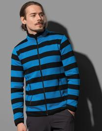 Striped Fleece Jacket